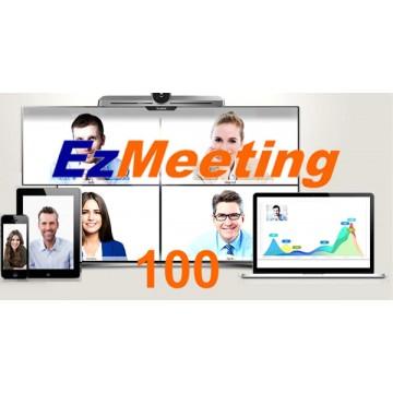 Videoconferenza cloud EzMeeting 100 sedi