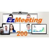 Videoconferenza di gruppo in cloud EzMeeting 200 partecipanti