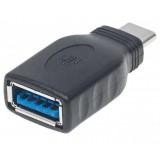 Adattatore da USB-A femmina a USB-C maschio