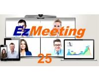 Videoconferenza cloud per 25 partecipanti + h323h + webrtc + rec Full 1
