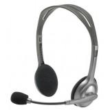 Logitech Portable headset h110 con 2 jack 3,5 mm