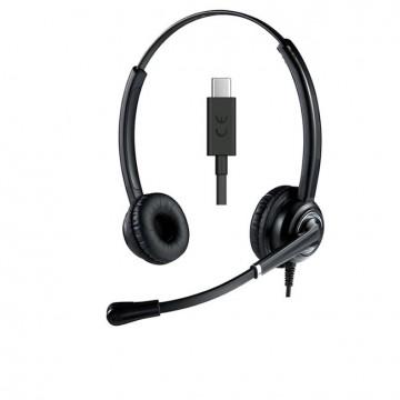 Cuffia USB-C Ultra cancellazione rumore Ezlight Top Ms Teams S4B