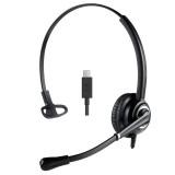 Cuffia mono USB-C con mcirofono ultra noise cancelling NC Ezlight Top