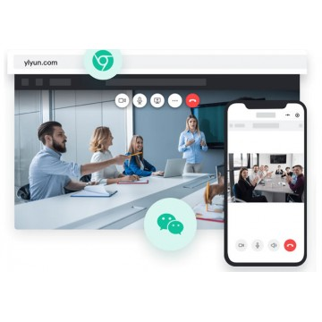 Yealink cloud meeting videoconferenza OnLine standard-mese