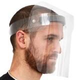 Schermo facciale a visiera in PVC lavabile face shield