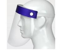 Visiera protettiva in poliestere con elastico 10 pezzi Face Shield