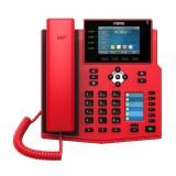 Fanvil X5U rosso telefono IP bluetooth 30 tasti colore rosso