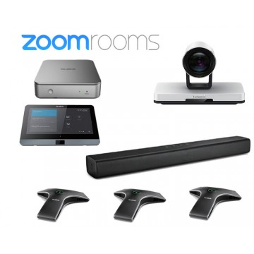Yealink ZVC800 Zoom Rooms con 3 microfoni cablati ZVC800-C2-310