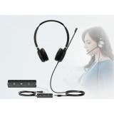 Yealink UH36 Dual cuffia stereo USB + Jack 3,5 mm