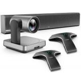 Yealink UVC84 BYOD Videocamera soundbar e microfoni