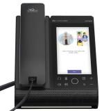 Audiocodes C470HDBW Microsoft Teams native Ip phone touchscreen