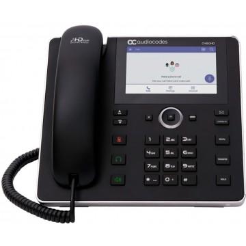 AudioCodes C450HD IP con alimentatore telefono certificato MS Teams