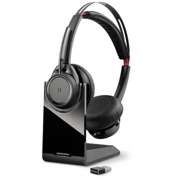 Plantronics Voyager Focus UC stereo MS con stand