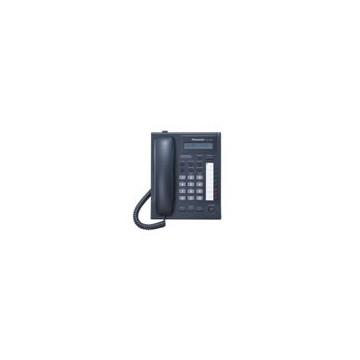 Telefono Panasonic KX-T7668 nero ricondizionato