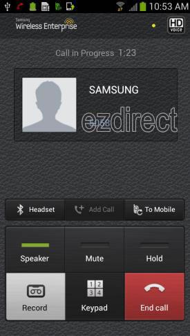 Samsung WE galaxy