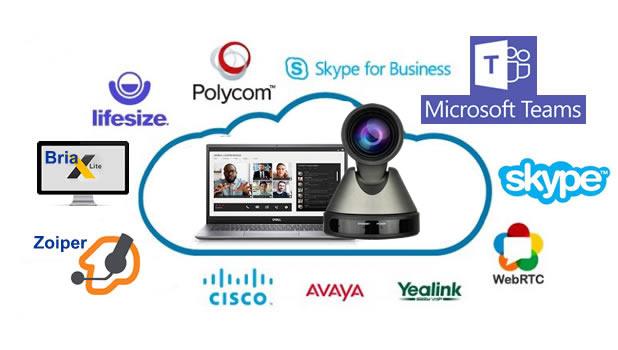 Telecmaera videoconferenza cloud