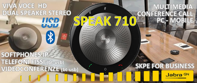 Jabra Speak 710 stereo bluetooth