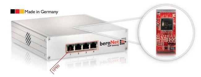 Beronet  BF16001E1BOX gateway voip 1 pri isdn 3cx