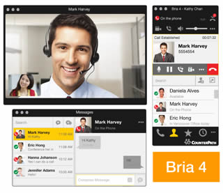 Bria softphone voip windows pC
