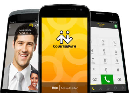 softphone android bria