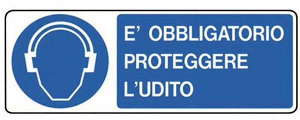 cartello obbligo protezione udito 3m peltor