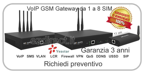 gateway IP GSM yeastar