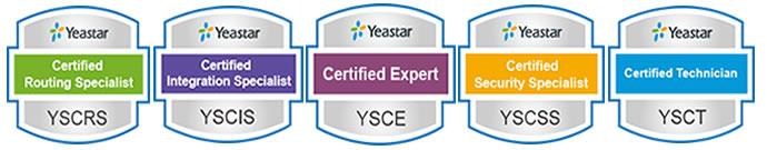 Yeastar Academy Ezdirect certificazioni