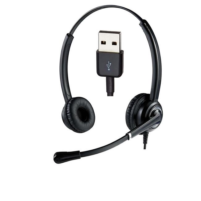 Cuffia USB-A Ezlight Top microfono ultra noise cancelling ufficio e telelavoro