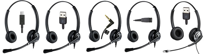 Cuffie con microfono professionali per pc e smartphone
