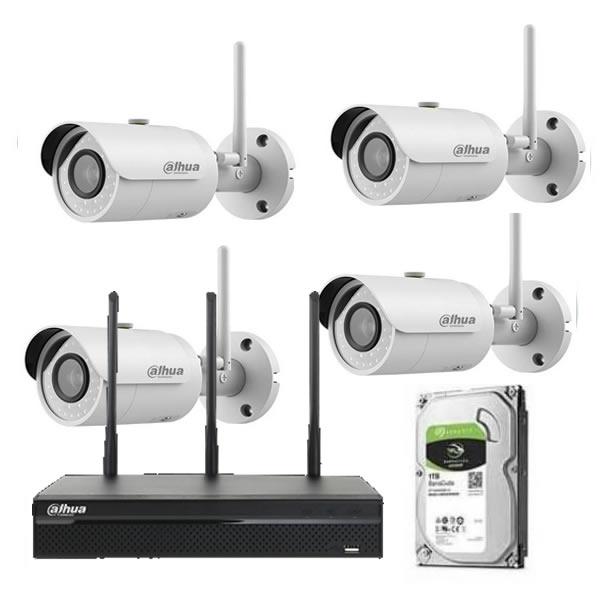 Kit videosorveglianza wireless dahua