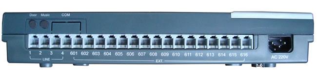 centralino analogico ez416