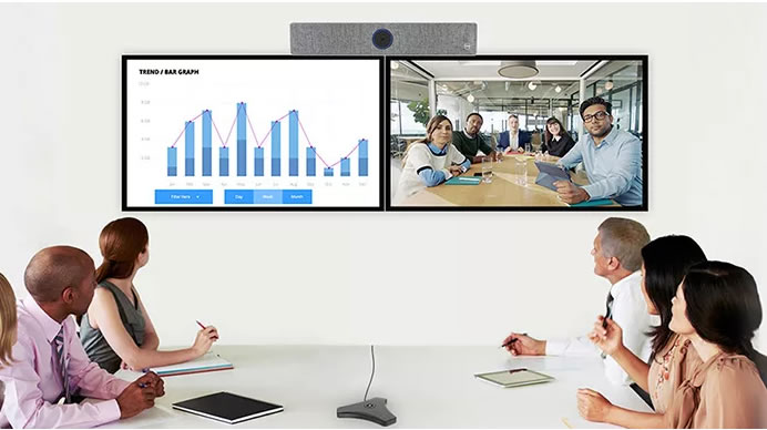 Sistema di videoconferenza windows 10 ezcam-hd9 pro 2 monitor