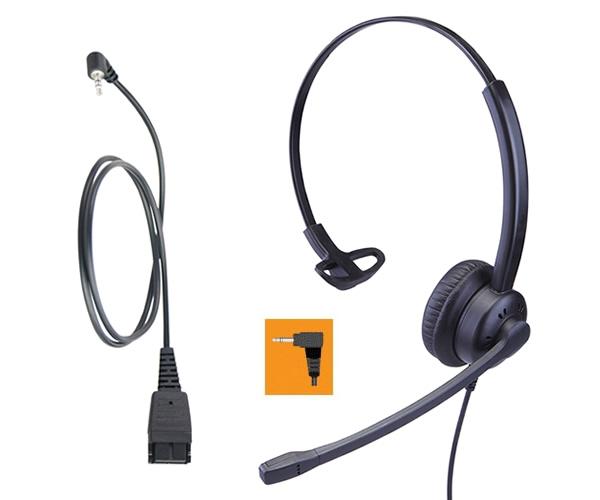 Cuffie telefoniche filari con microfono economiche per telefono ... bdeea8b98f5d