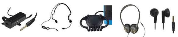 Accessori microfoni auricolari