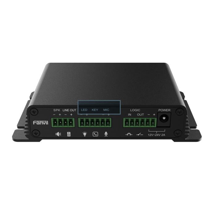 Fanvil PA2S audio video Ip gateway
