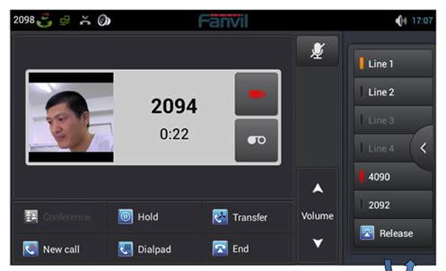 fanvil telefono voip C600