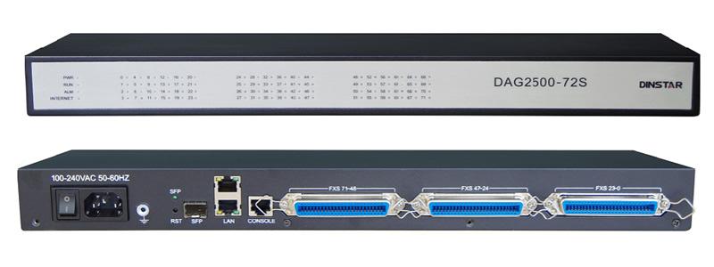 Gateway VoIP 72 fxs dinstar