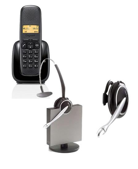 Cuffia per telefono cordless