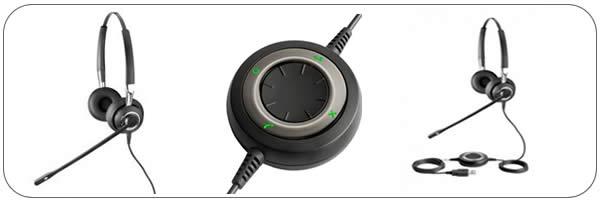 Cuffia USB con microfono per PC
