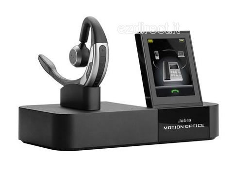 Jabra Motion Ofice vista laterale