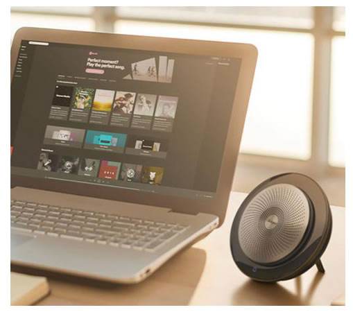 vivavoce jabra speak 710 per notebook