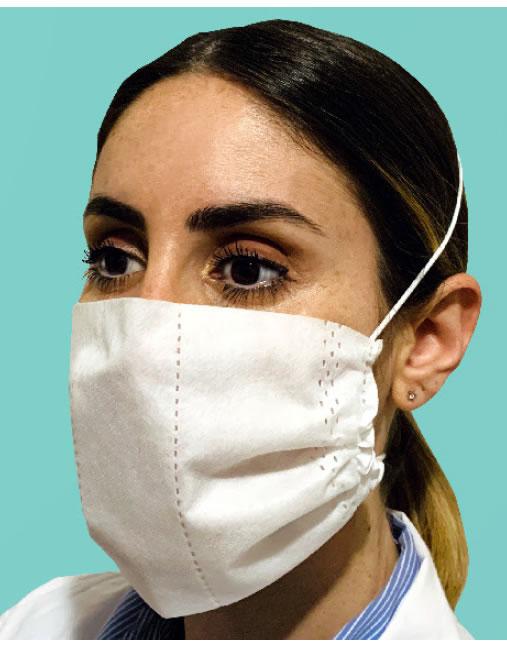 mascherina facciale tipo I certificata iss