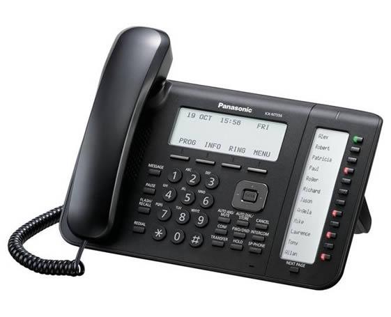 Panasonic KX-NT556X-B VoIP