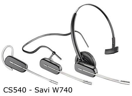 Plantronics Savi W740 supporto