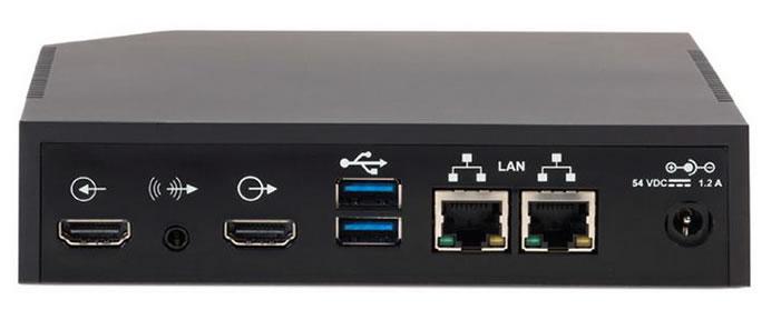 Polycom Pano dispositivo porte di connessione