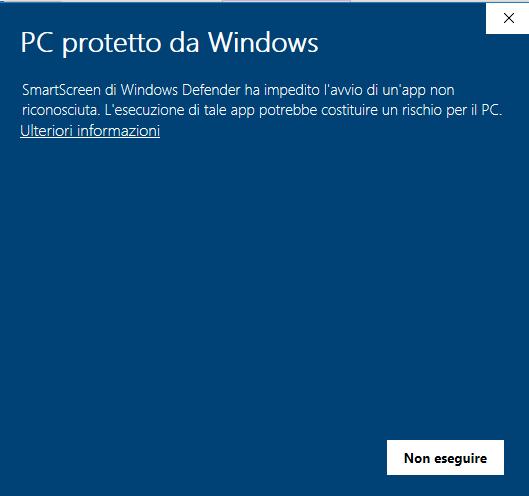 EzDial protetto da windows