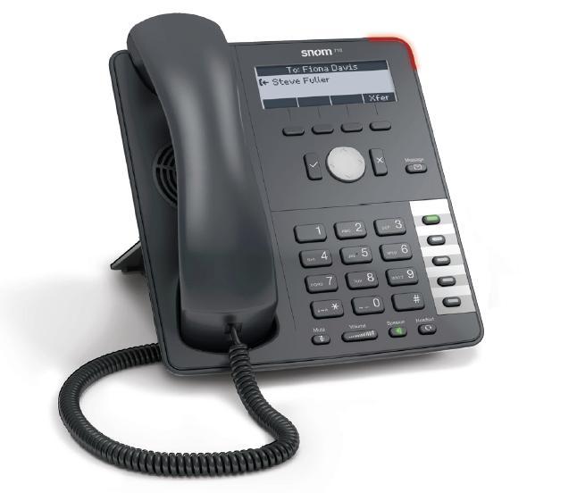 Telefoni VoIP SNom YEalink grandtsream