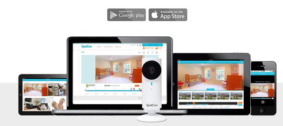 Spotcam videosorveglianza IP wifi
