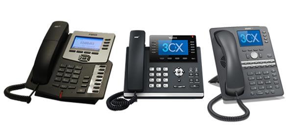 telefoni compatibili 3cx