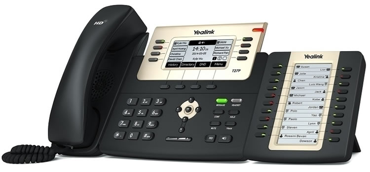 telefoni yealink con dss